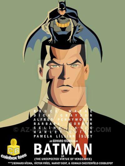 Birdman/Batman by Az-I-Am