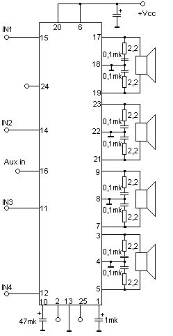 TA8251AH - 4u044530 u0412u0442 (4 u041eu043c).