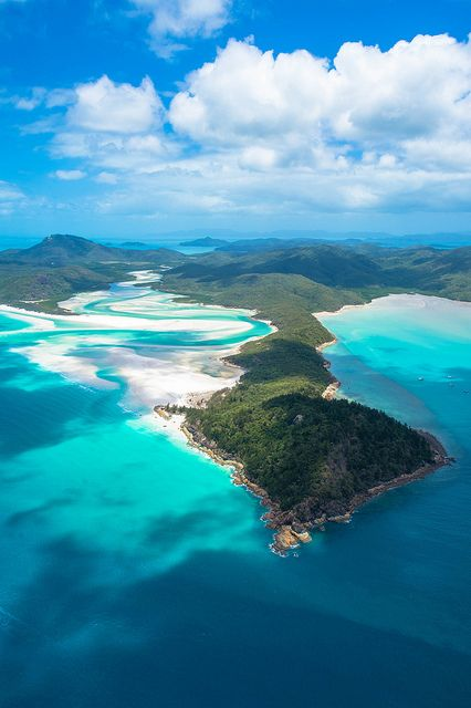 Australia, Whitehaven Beach, Whitsunday Islands by ncholet