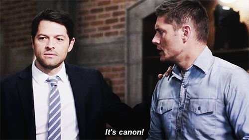 funny, gif, and supernatural image