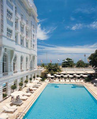Copacabana Palace hotel, Rio de Janeiro #hotelinteriordesigns