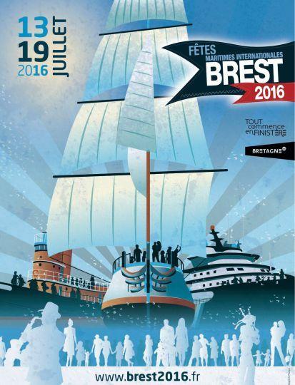 Les Fêtes maritimes de Brest 2016 se dévoilent…