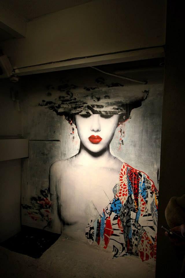 Artist : Hush #streetart