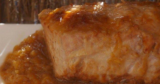 Platos Latinos, Blog de Recetas, Receta de Cocina Tipica, Comida Tipica, Postres Latinos: Lomo en Salsa de Manzana - Recetas Saludables Para Hipertensos