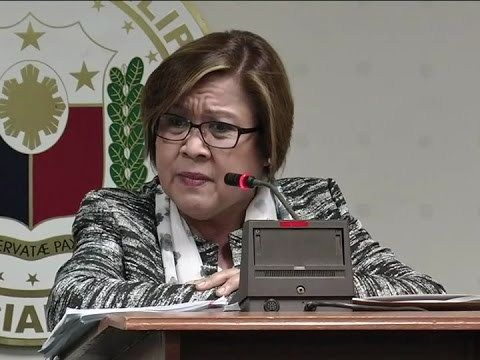 Senator Leila de Lima, nanghingi rin umano ng pera kay Janet Napoles - WATCH VIDEO HERE -> http://dutertenewstoday.com/senator-leila-de-lima-nanghingi-rin-umano-ng-pera-kay-janet-napoles/   Ibinunyag ni pork barrel scam queen Janet Napoles na humingi ng pera sa kanya si Senator Leila de Lima para hindi na muling buksan ang kasong serious illegal detention laban sa kanya. For more videos: For News Update, visit:  Check out our official social media accounts: Instagram account