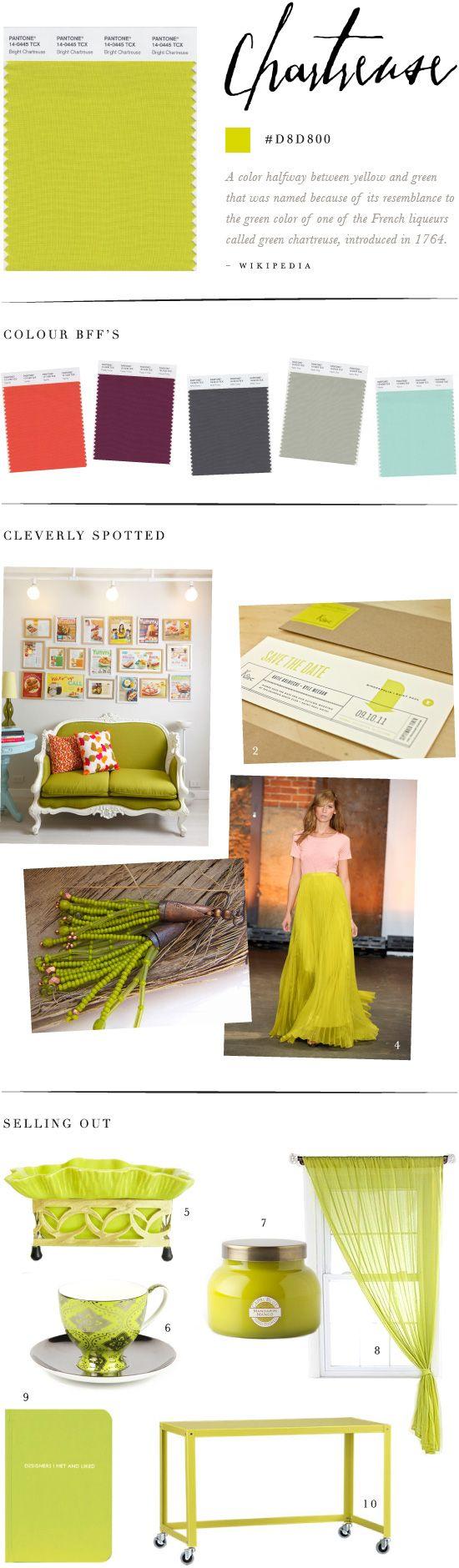 Colour Study: Chartreuse