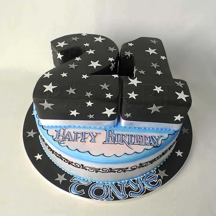 21st Birthday Cakes, 21st Birthday And For Him On Pinterest