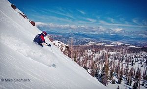 Groupon - All-Day Lift Ticket for One or Two Adults or Night Skiing for One or Two Adults at Brian Head Resort (Up to Half Off) in Brian Head. Groupon deal price: $39