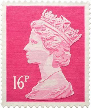 The Queen.  Would love one of these for U's room or an orange one for the attic