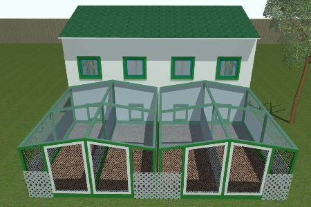 Large chicken coop plans for up to 40 chickens