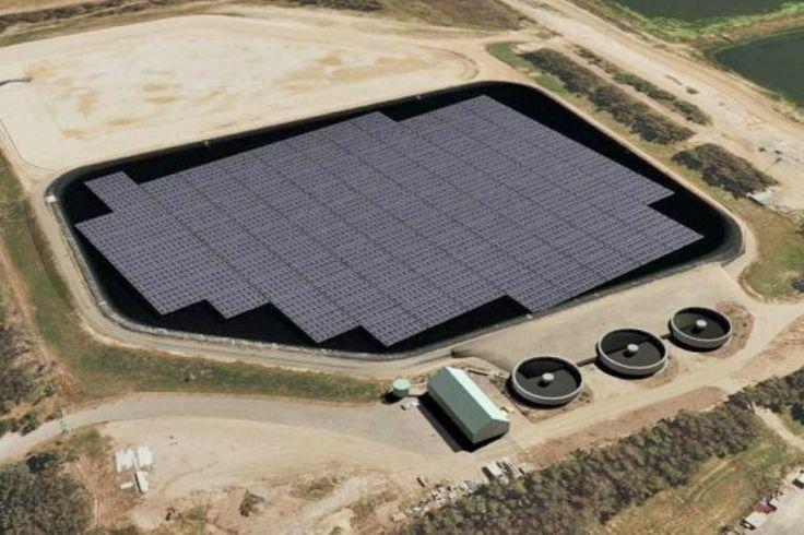 Australian-first floating solar farm due to begin construction!
