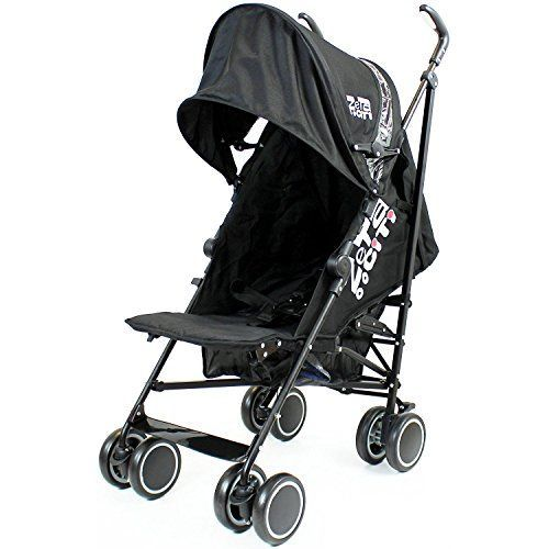 The Zeta City is simple yet Stylish. The perfect out and about stroller. This lightweight umbrella folding stroller is ideal for children from Birth. It comes complete with multi-reclining back and lo...