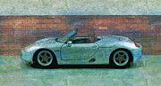 "New artwork for sale! - "" Model Car Porsche Boxster Sporty  by PixBreak Art "" - http://ift.tt/2lXhEGQ"