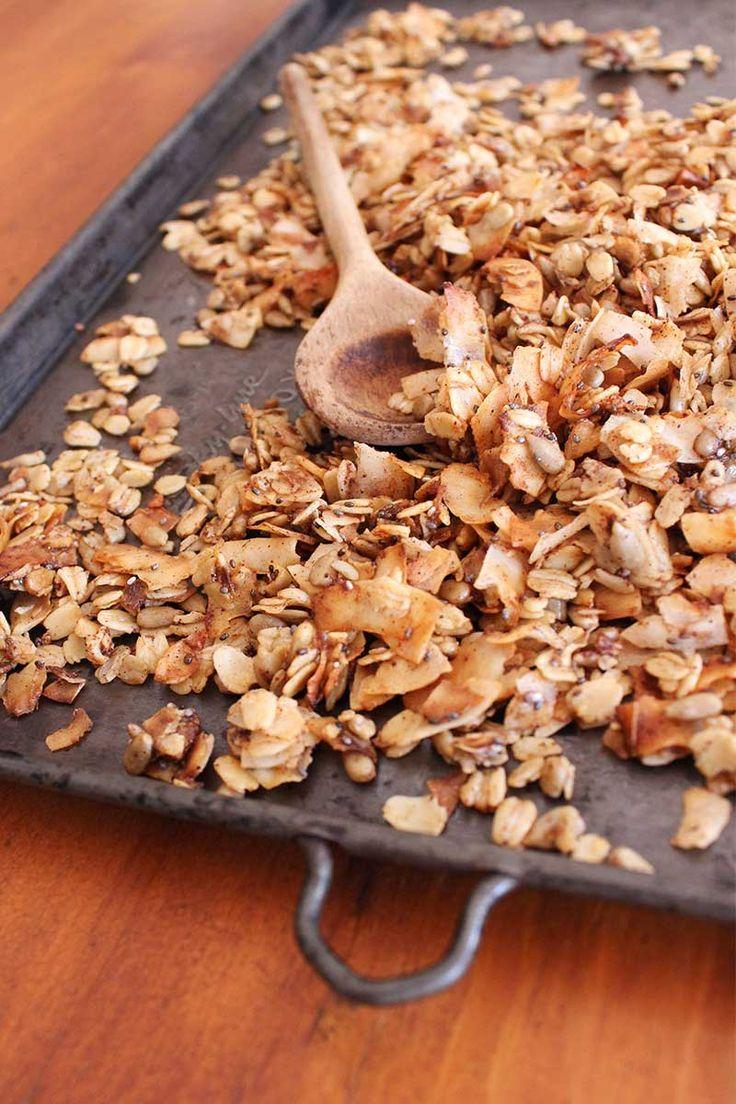 Saszali date and coconut muesli recipe on the blog.