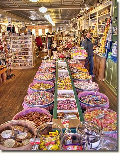 penny candy store on the way home from the beach!