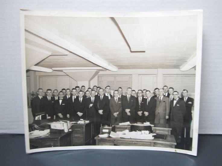 FBI New York Federal Bureau Photograph Special Agent 1963 Retirement Picture #2