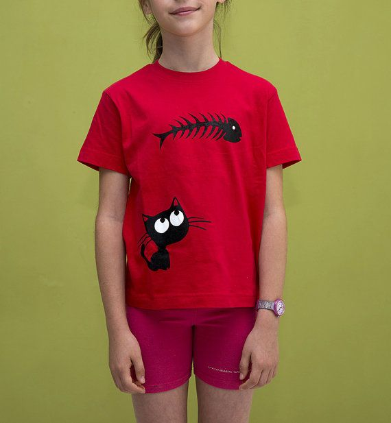 Catfish T-Shirt for Kids Cat Fish Black & by ClothMothTshirts