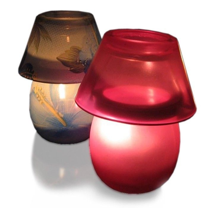 tealight lamps | Aroma Tealight Candle Holder Lamp Shade ...