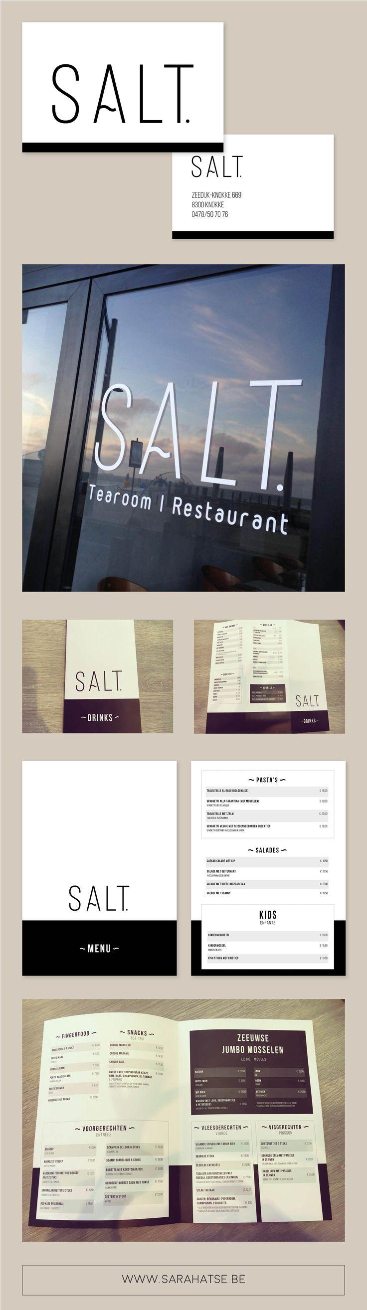 SALT. - Grafisch ontwerp by Sara & Ingemar