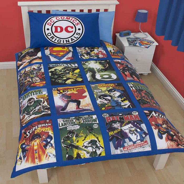 13 best DC comic bedroom images on Pinterest | Batman quilt ...