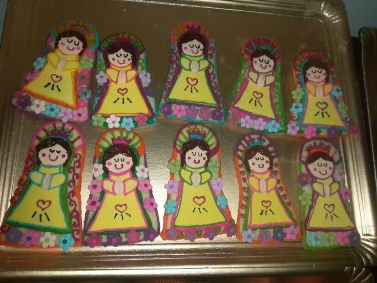 Cookies virgencita Porfis!