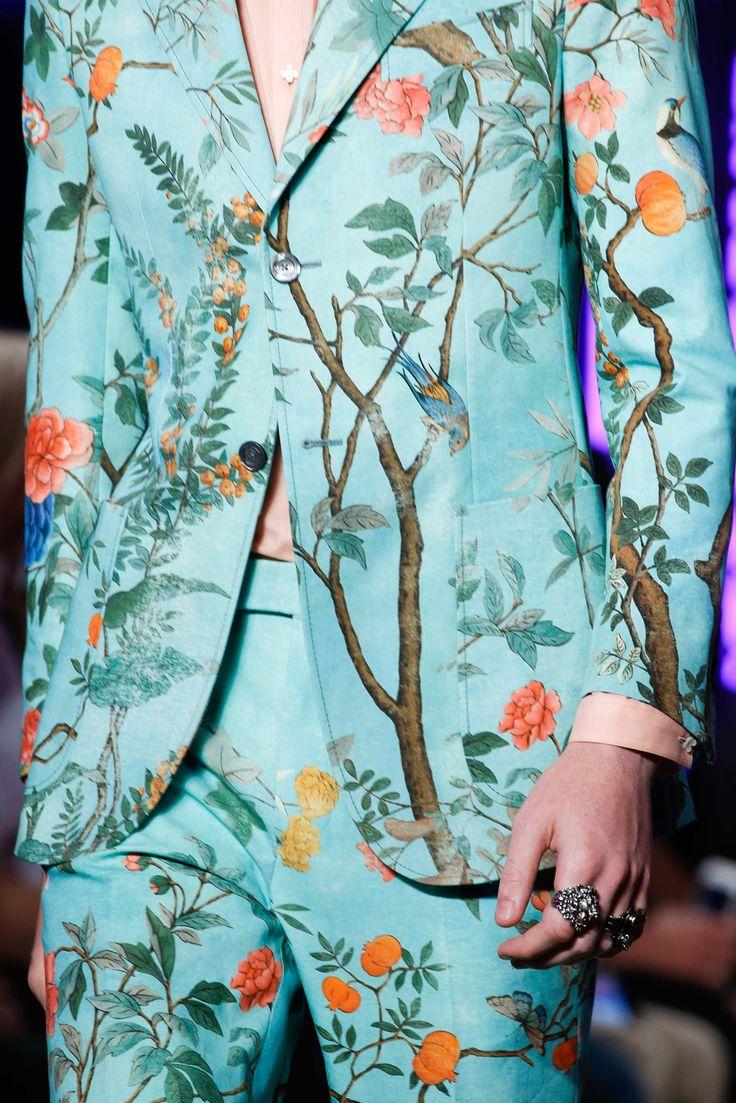 Gucci Spring 2016 Menswear - Collection - Gallery - Style.com // Fashion details | Menswear | Womenswear | Catwalks