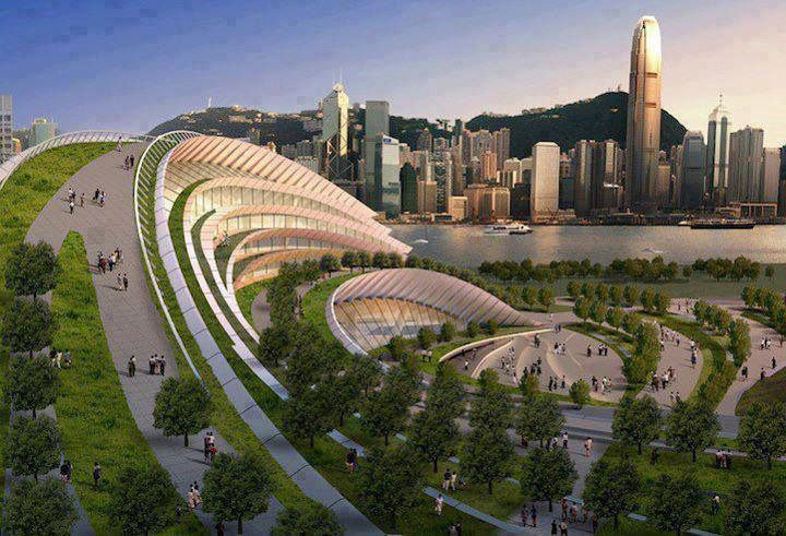 Proposed Express Rail Link West Kowloon Terminus , Hong Kong