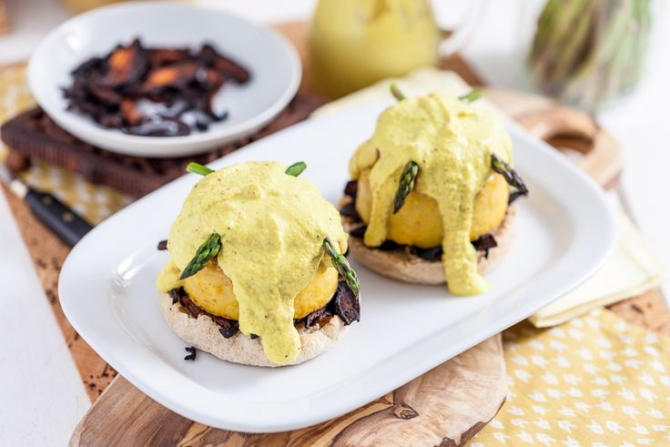 How about vegan soy-free benedict? This is perfect for those who prefer a more savory brunch.