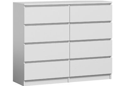 Contemporary corner chest of drawers
