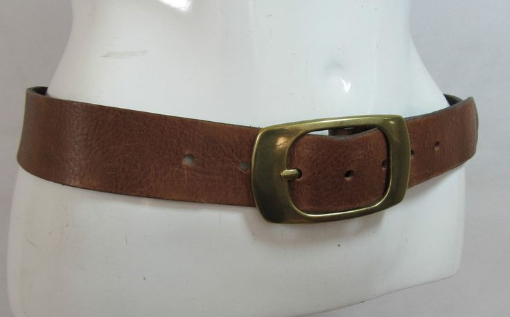 Next vintage effect brown gain leather belt fashion belt male S/M Fem M/L R15319 #style #fashion #love #woman #chic #eBay #BELT #sangriasuzie
