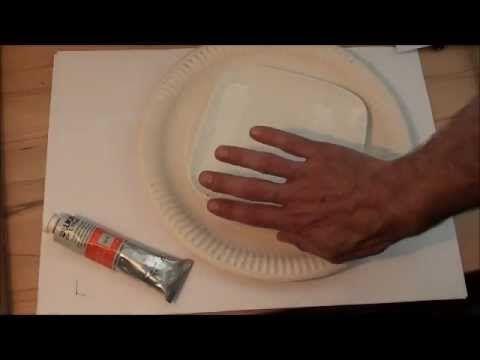 Tipps für Anfänger der Acrylmalerei (4): Die Palette - YouTube