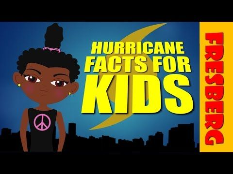 Each year we Face hurricanes and kids wonder what they are. Check out this educational cartoon explaining hurricane facts for kids #edchat
