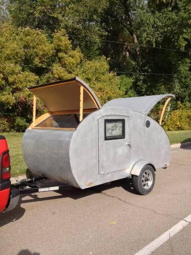 2010 Moon Window Tear Drop Vintage Canned Ham Travel Trailer 5500 Teardrop Camper PlansTeardrop