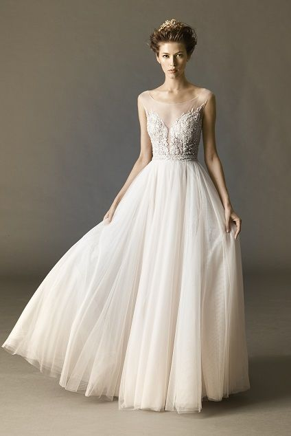 Kaliah ballerina inspired wedding gown and photo courtesy of Watters