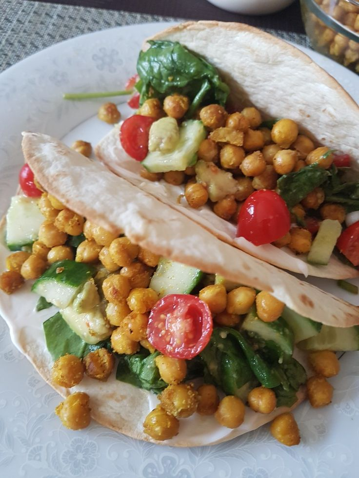 Curry Chickpea Tacos #