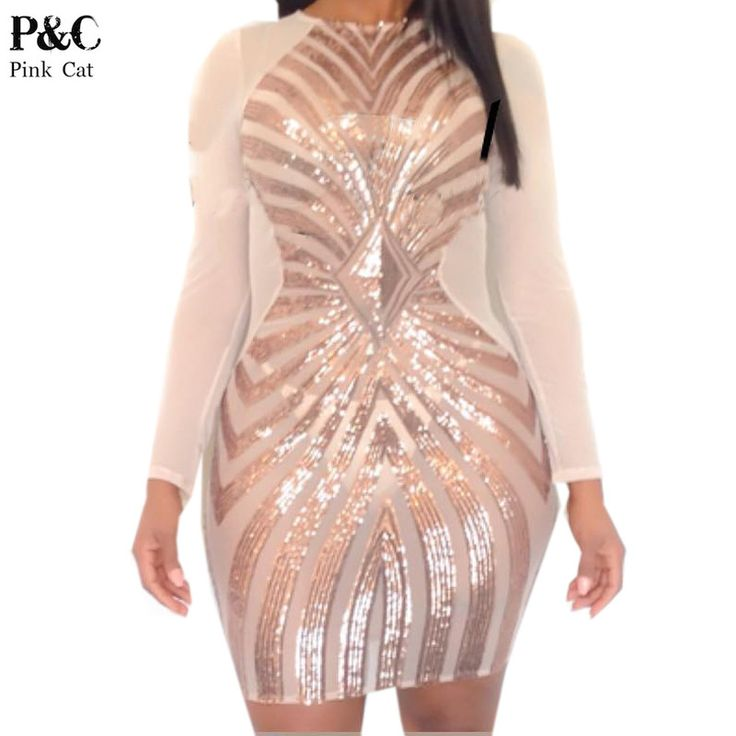 Available Now on our store:  Women XXXL Plus S... Check it out here ! http://mamirsexpress.com/products/women-xxxl-plus-size-rose-gold-geometric-pattern-sequin-bodycon-dress-womens-sexy-dresses-party-night-club-dress?utm_campaign=social_autopilot&utm_source=pin&utm_medium=pin