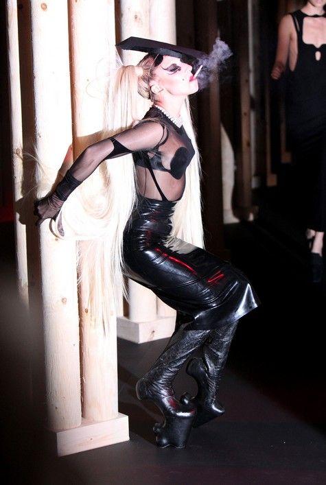 Lady Gaga for Thierry Mugler