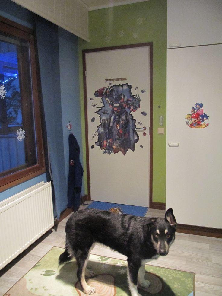 Messi dog and Optimus prime