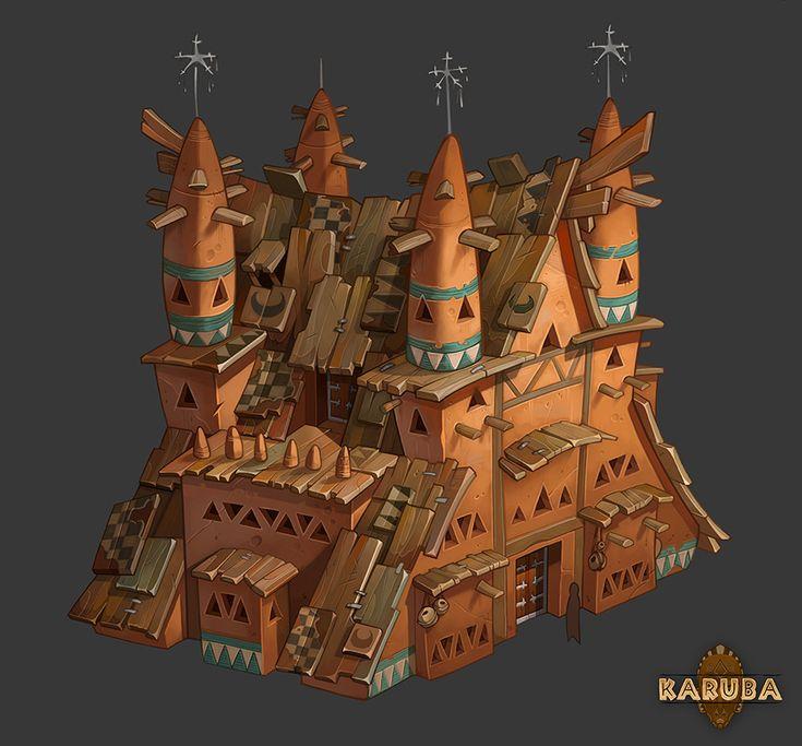 Karuba's house by Catell-Ruz.deviantart.com on @deviantART