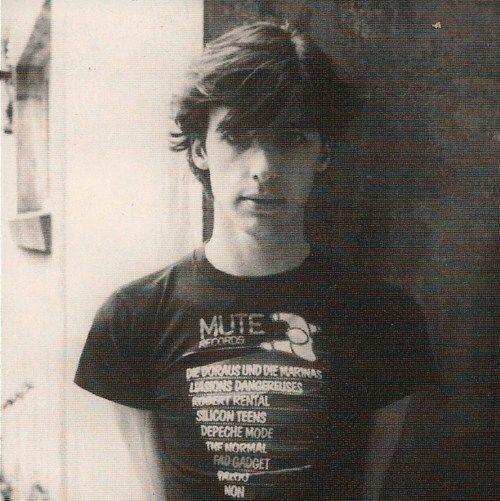 Mute T Shirt - Fad Gadget Frank Tovey