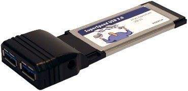 ExpressCard 34 to SuperSpeed USB 3.0 Host Adapter 2 Ports by Synchrotech. $41.00. ExpressCard 34 to SuperSpeed USB 3.0 Host Adapter 2 Ports