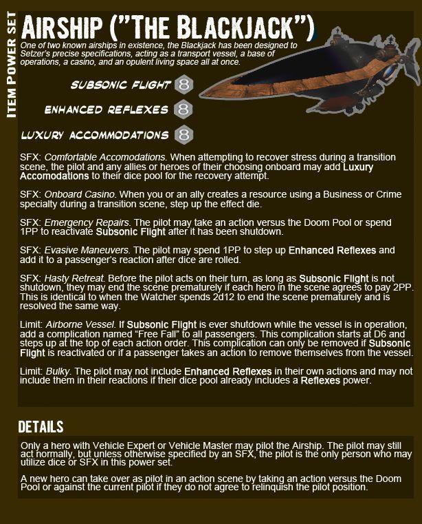 final fantasy airship | Final Fantasy VI - Setzer - Marvel RPG Datafile - Airship Item Power ...