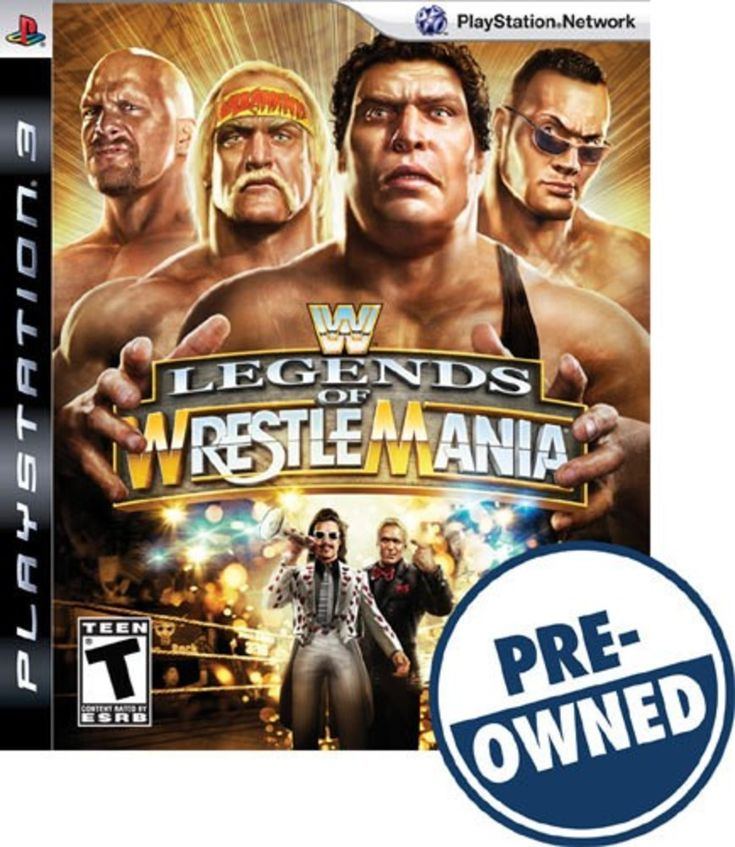 WWE Legends of WrestleMania — PRE-Owned - PlayStation 3