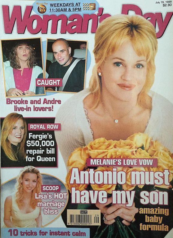 Woman's Day Magazine July 19, 1999 Fergie