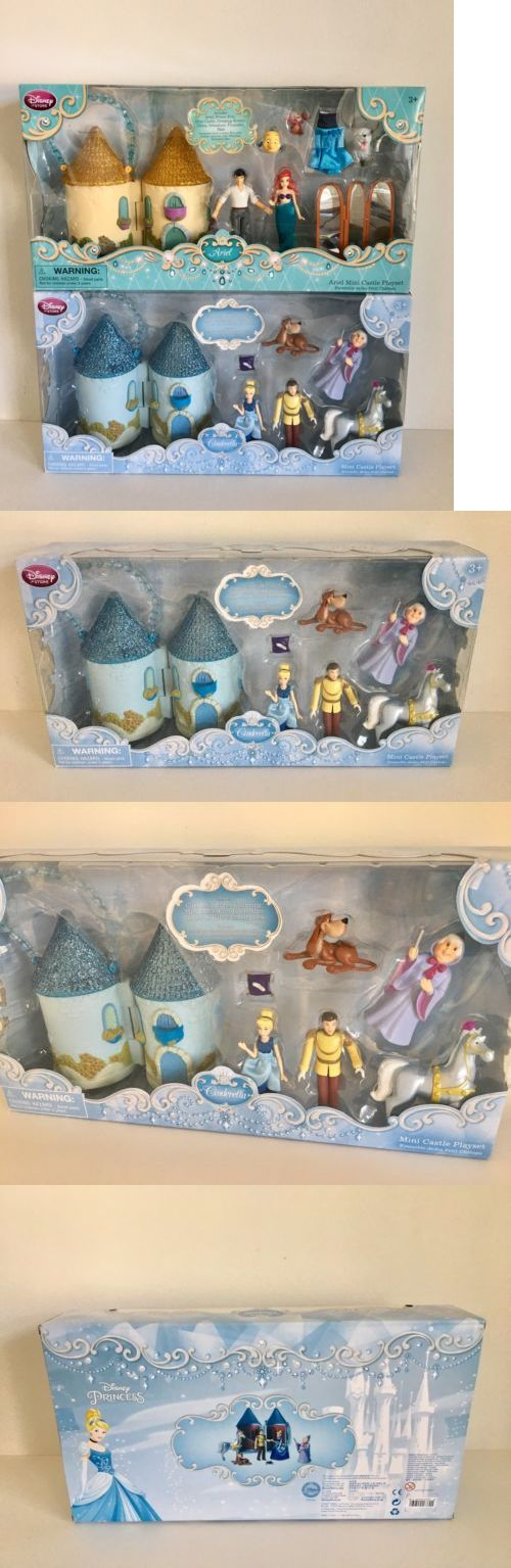 Little Mermaid 44036: Disney Mini Castle Playset Cinderella And The Little Mermaid Toy Figure New -> BUY IT NOW ONLY: $49.95 on eBay!