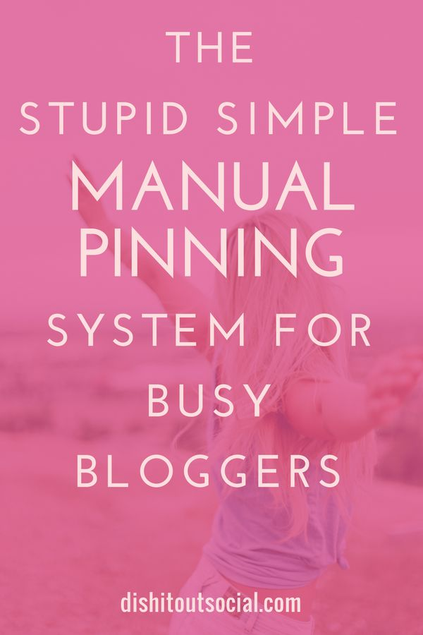 Want better results from Pinterest and more traffic to your blog? We all want that. Find out how I tripled my blog traffic in only 30 days with a super simple manual pinning strategy that uses only you smartphone and about 15 minutes a day.