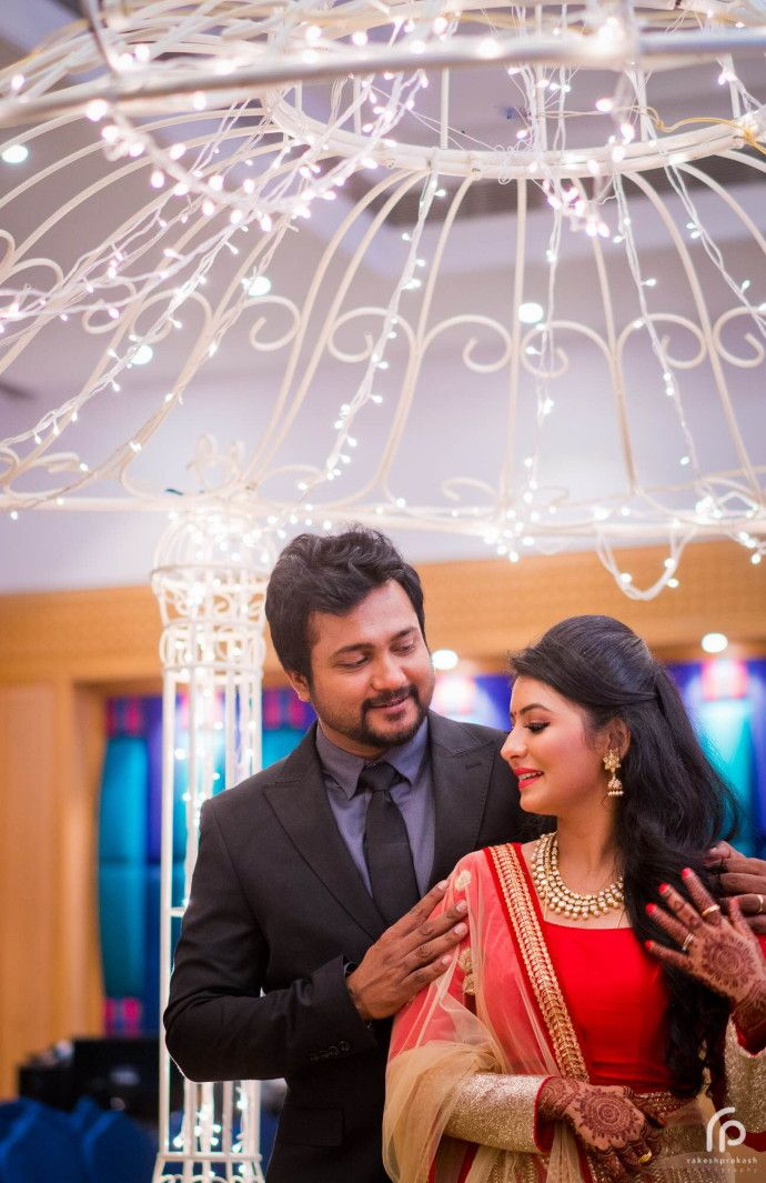 bobby simha actress reshmi reception photos 9