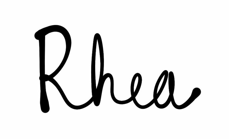 """Rhea (""""Ray-uh""""--but a little breathier, """"Rhhey-uh""""). Likely meaning 'to flow'. This one may seem modern, but it has a large place in the founding of both Greek and Roman mythology/legend. She is mother of Zeus, Poseidon, Hera, Demeter, Hestia, and Hades in Greek myth; in Roman legend, she was the mother of the twin brothers who founded Rome, Remus and Romulus. For more names, please visit http://pinterest.com/meggiemaye/for-love-of-names/"""
