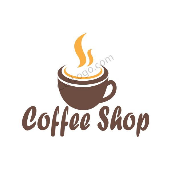 Coffee Shop Logo Design - Buy cheap premade logo designs. CutLogo.com . Premium quality in low prices