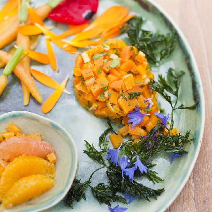 Tartare de carottes aux agrumes - une recette Végétarien - Cuisine   Le Figaro Madame